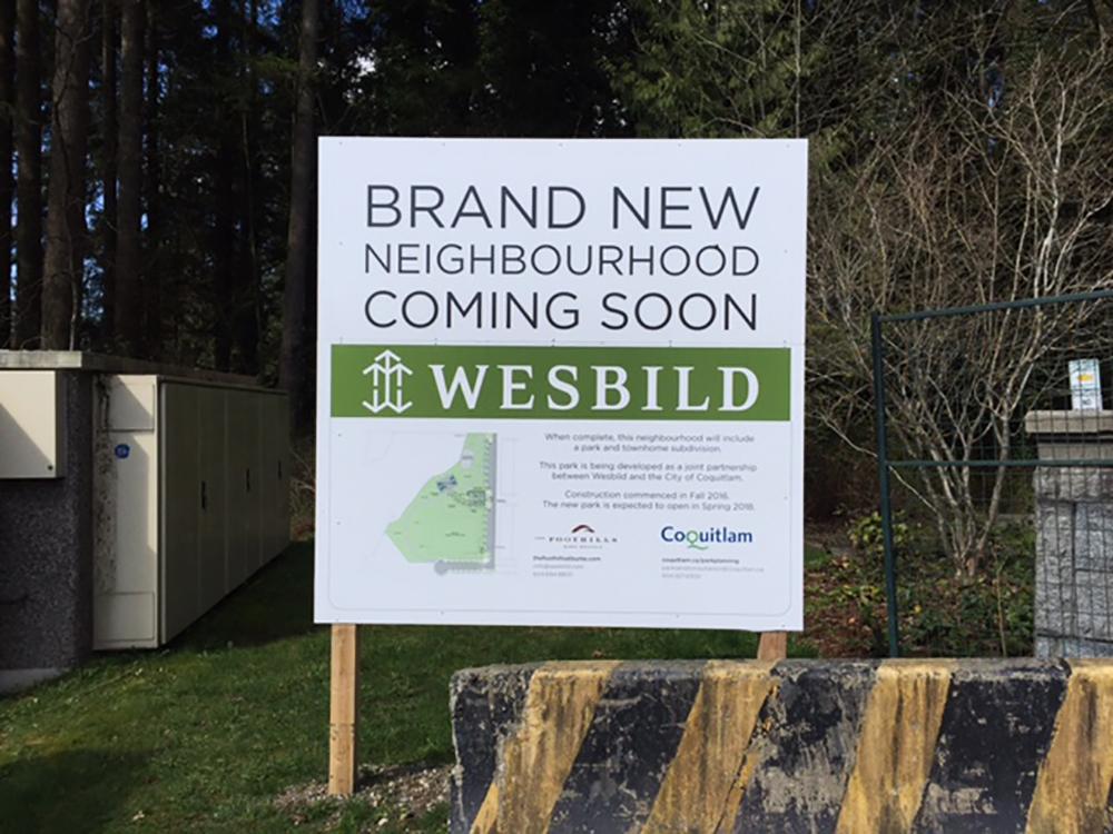 2017 Burk Mountain Wesbild Construction Hoarding