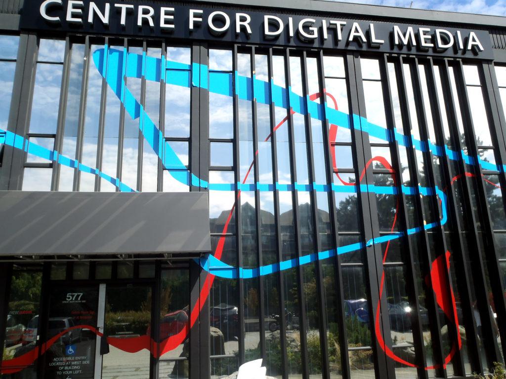 Centre for Digital Media Exterior Graphics 2007