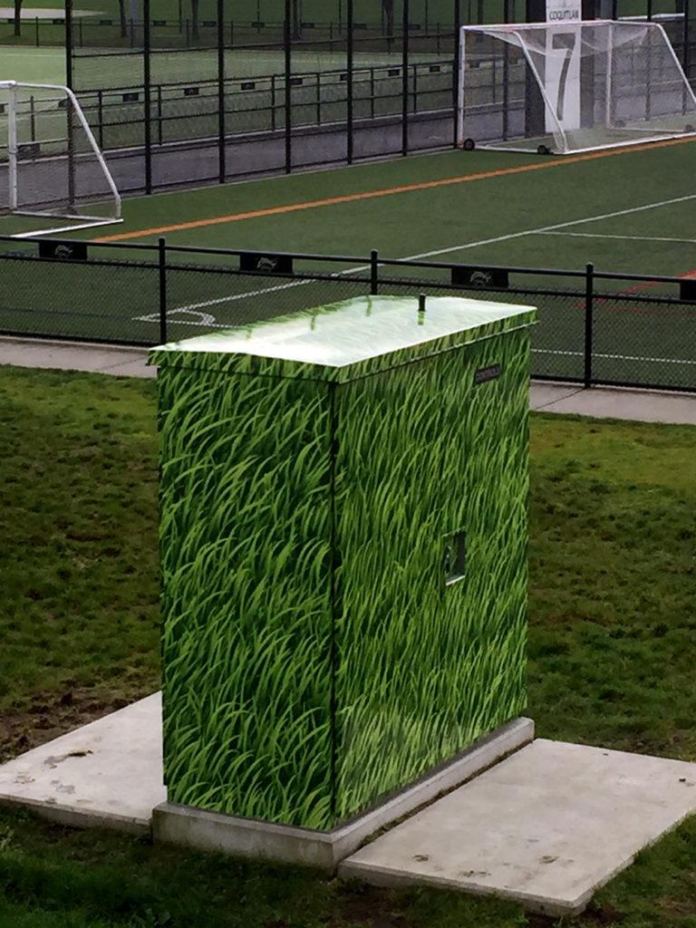City of Coquitlam Kiosk Wrap 2015