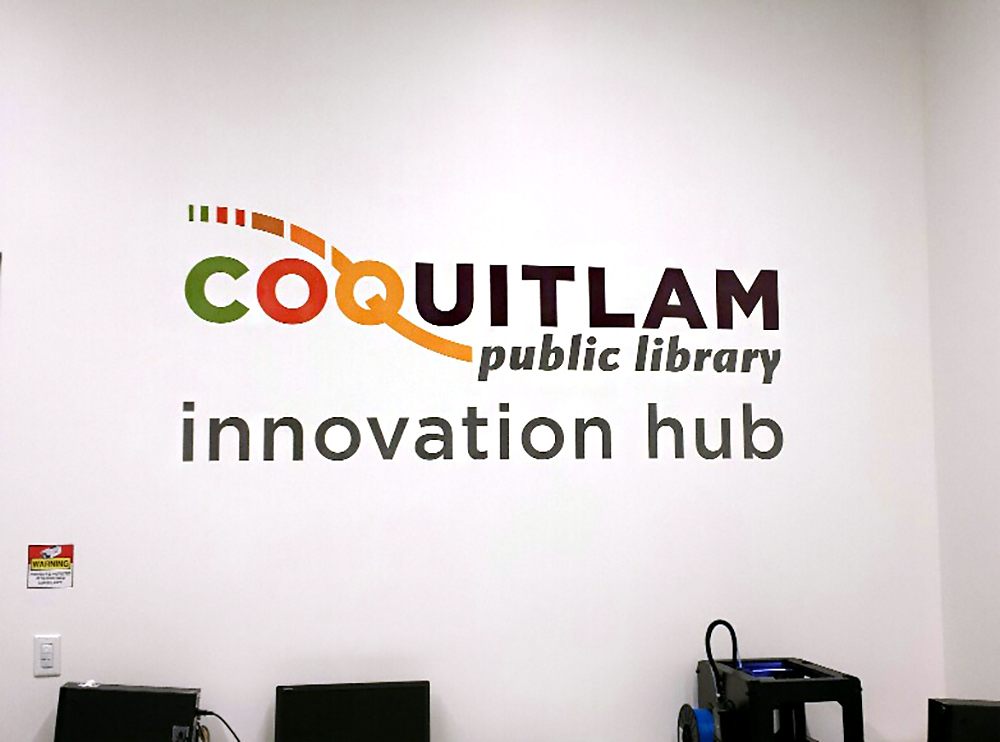 City of Coquitlam Wall Decal 2015