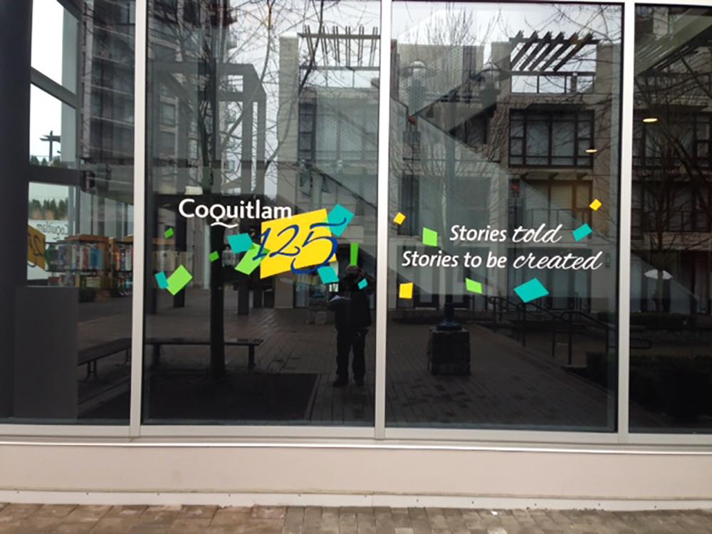 City of Coquitlam Window Graphic 2016