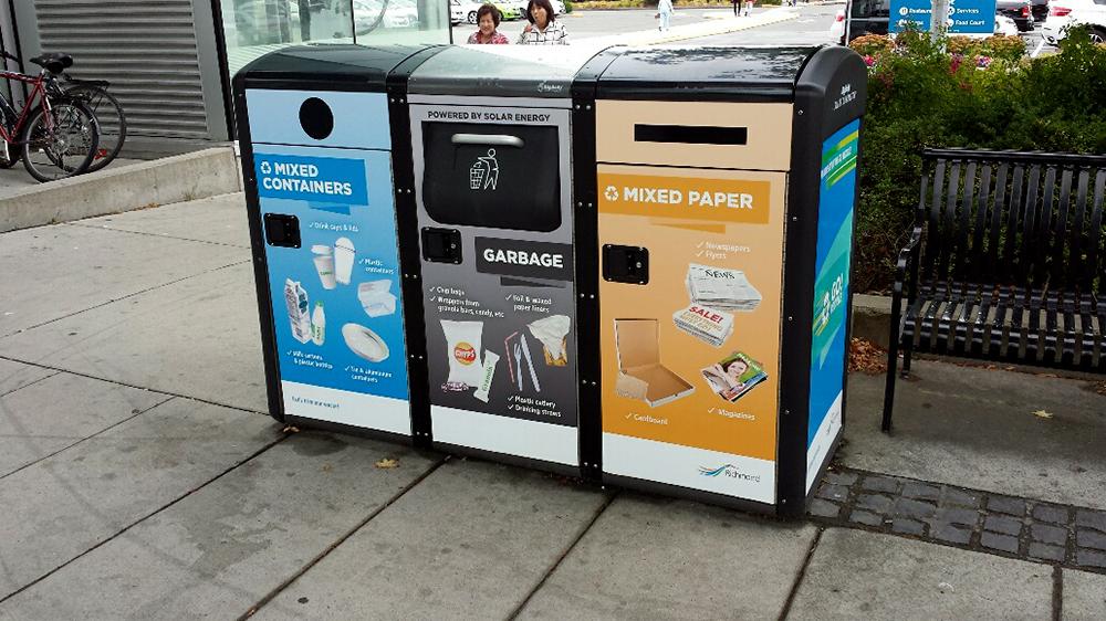 City of Richmond Garbage Bin Wraps 2015