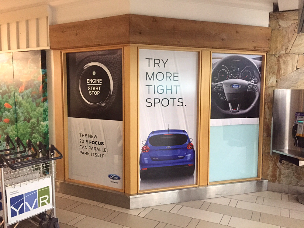 YVR Ford Window Graphics 2015