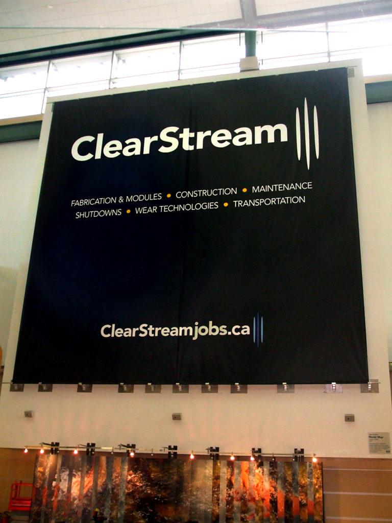 Clear Stream Banner 2013