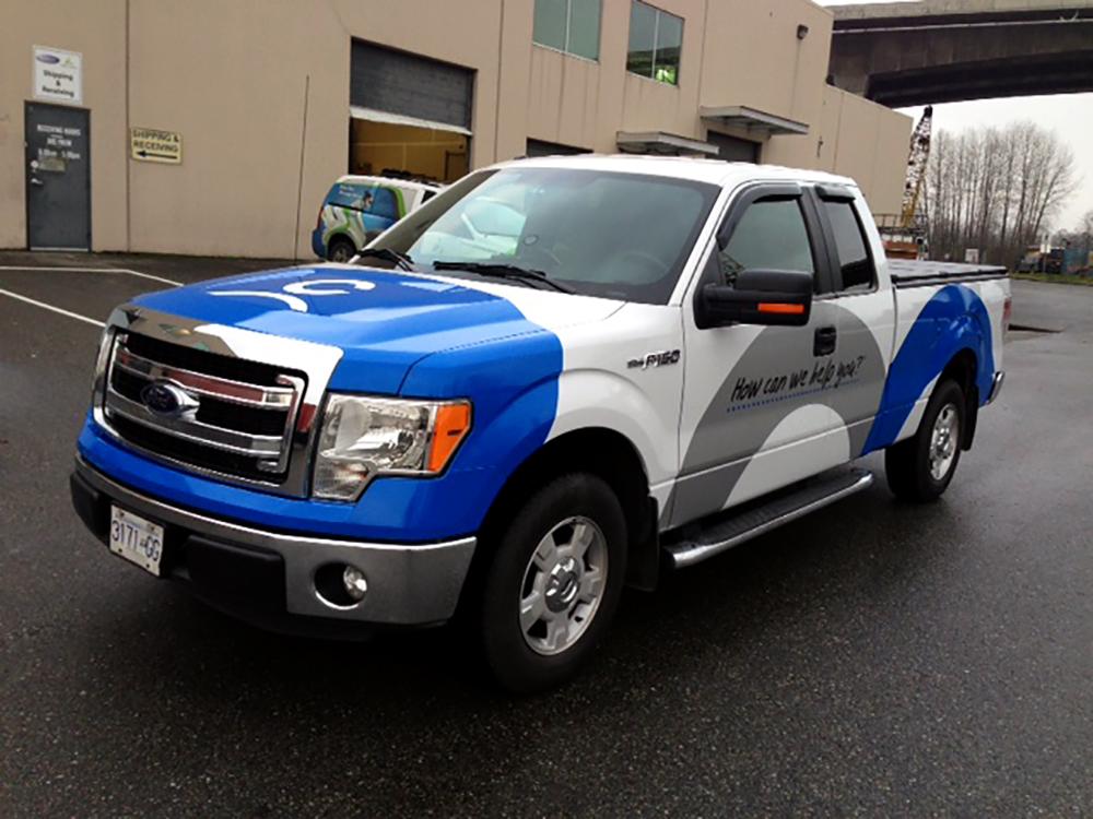 Coast Capital Truck Wrap 2015