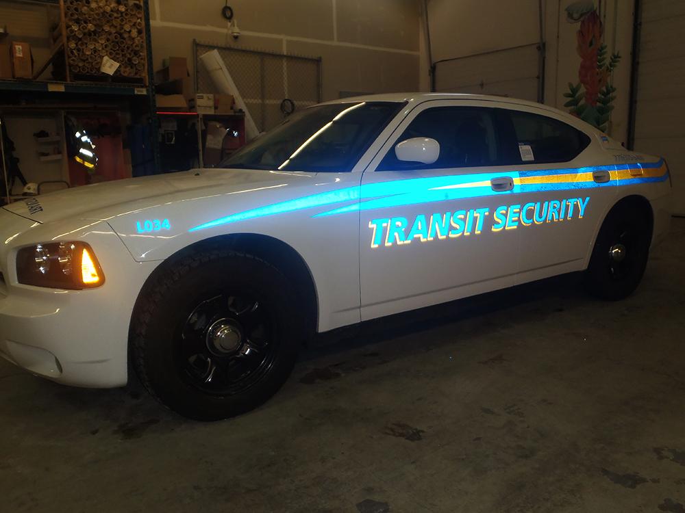 2017 Transit Security Fleet Graphics