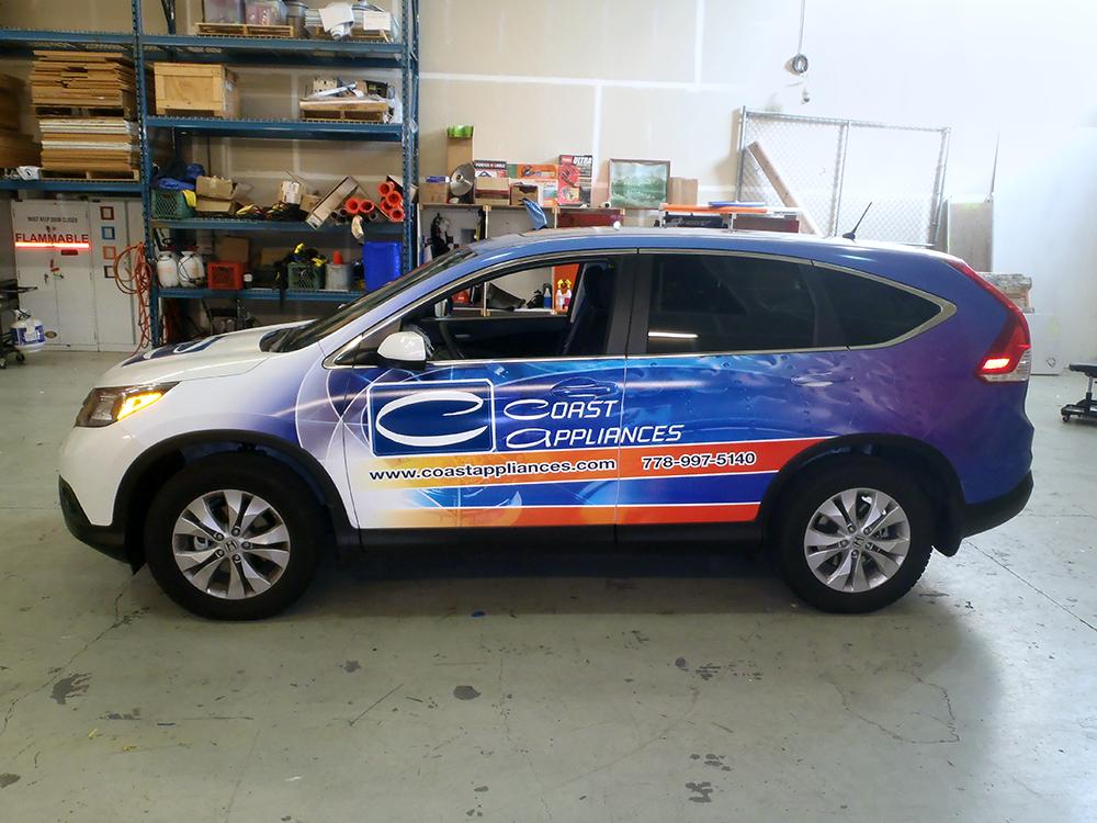 Coast Appliances Vehicle Wrap 2015
