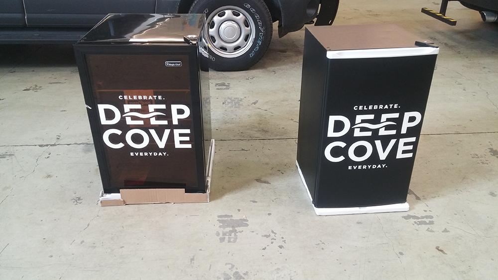 2017 Deep Cove Brewers Fridge Wrap