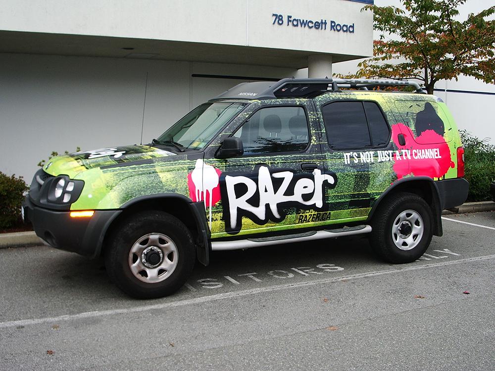 2005 Razer Fleet Graphic