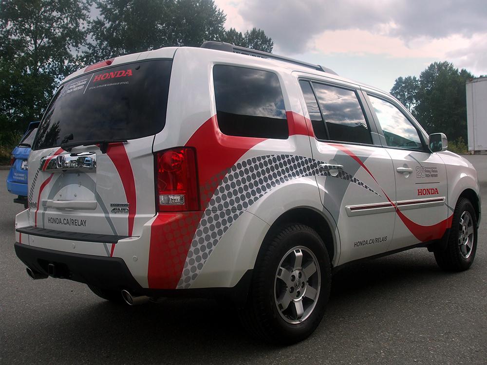 Honda Vehicle Wrap