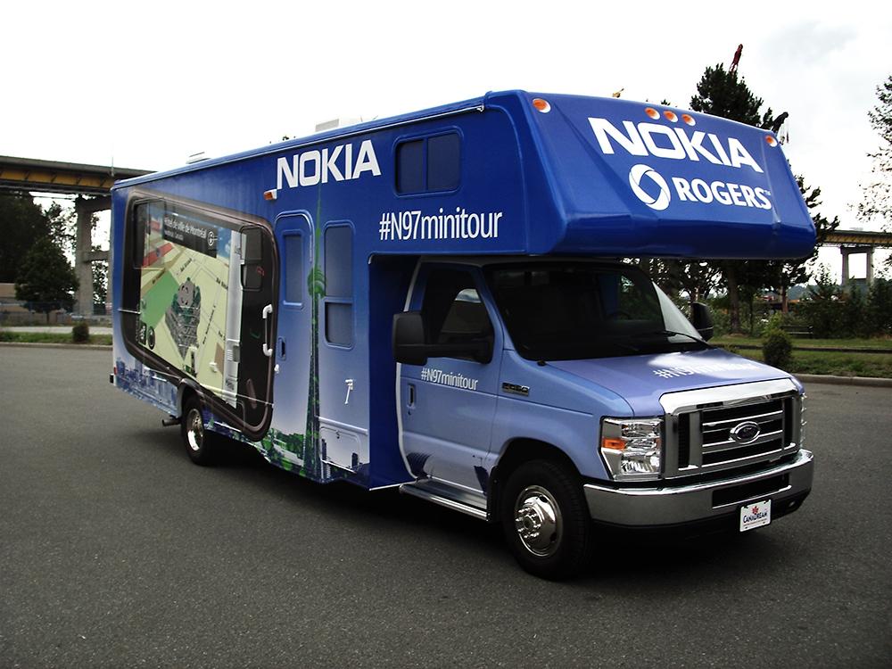 Nokia Bus Wrap