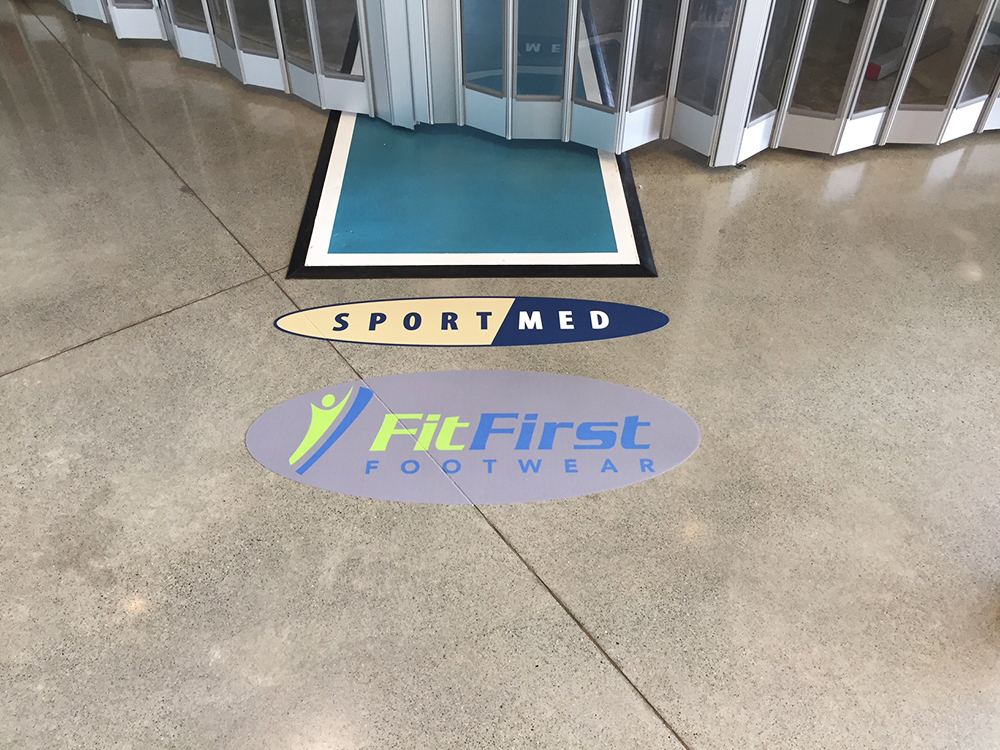 Fortius Floor Decal 2016