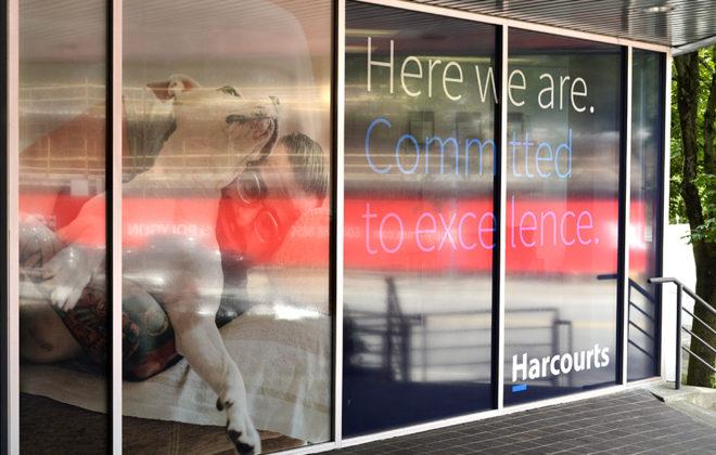 Harcourts Window Graphics