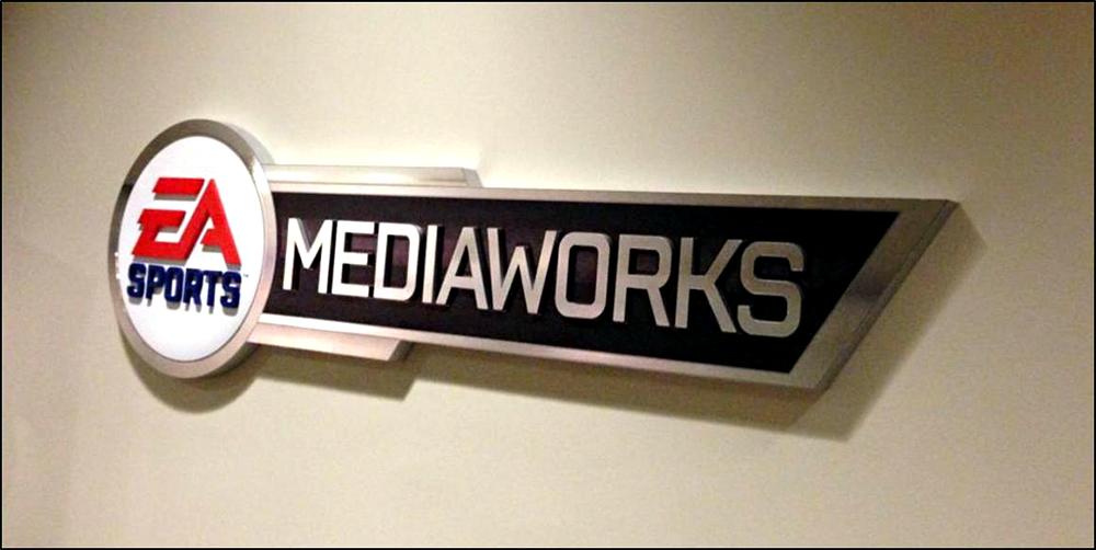 2018 EA Mediaworks Dimensional Lettering
