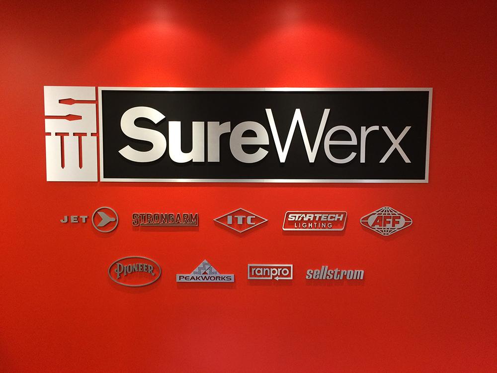 SureWerx Dimensional Wall Graphics 2016