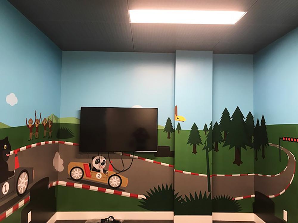 2017 Kid's Corner Wall Graphics
