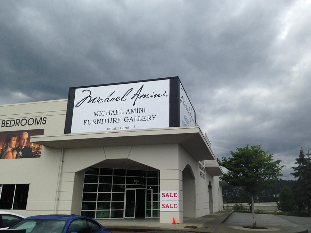 Michael Amini Store Front Signage 2016