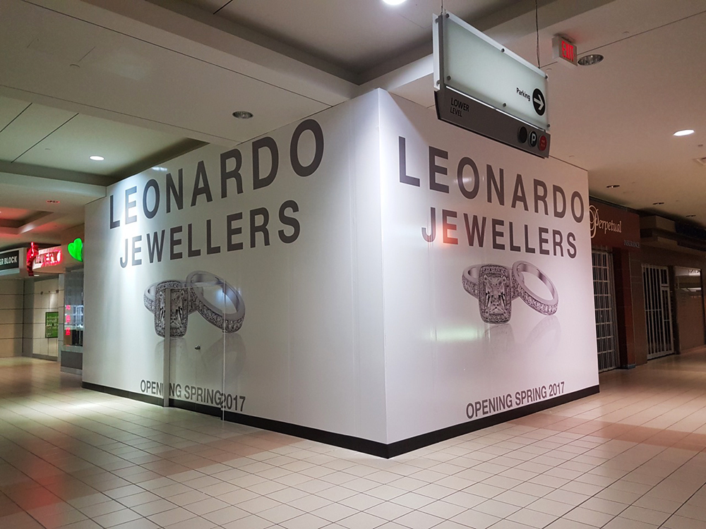 2017 Leonardo Jewellers Hoarding