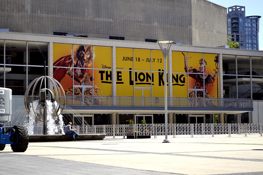 Lion King Window Graphic 2015