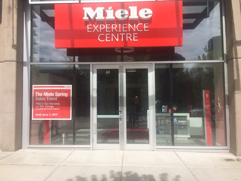 2017 Miele Limited Storefront
