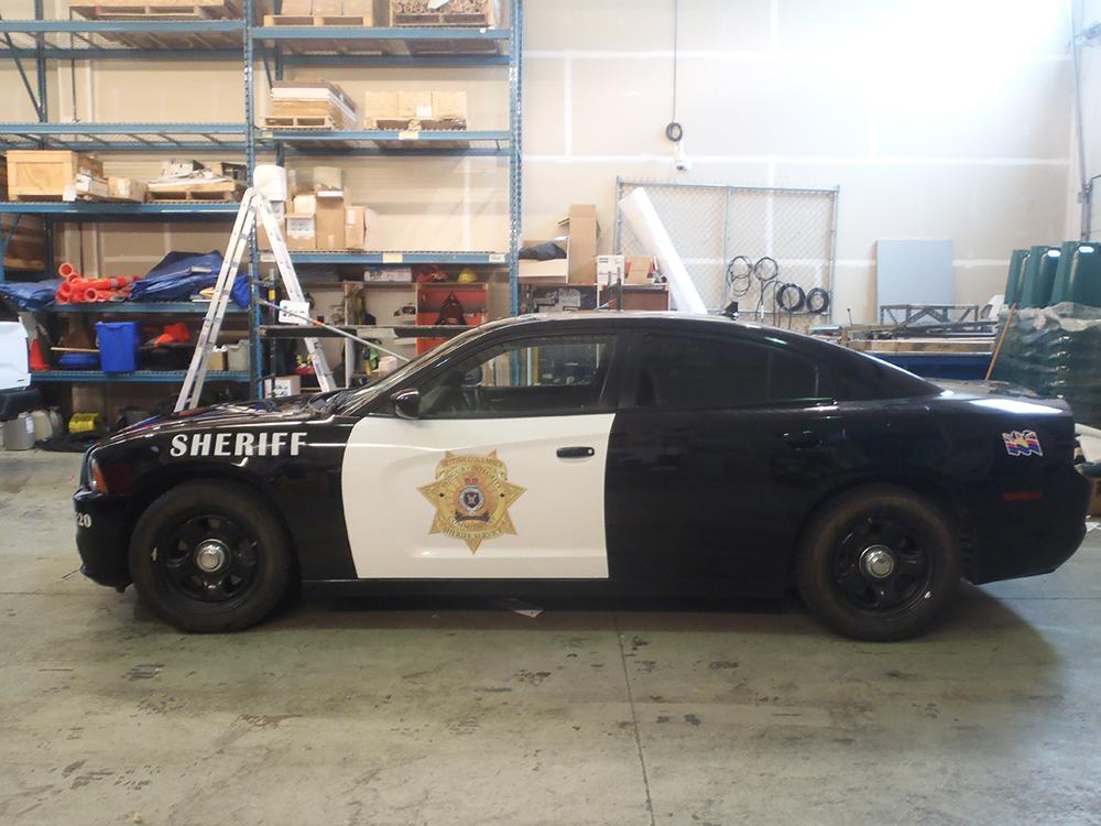 Sheriff Vehicle Wrap 2016