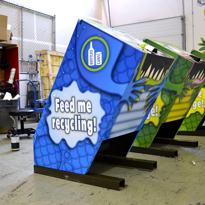 Ministry of Transportation Garbage Bin Wraps