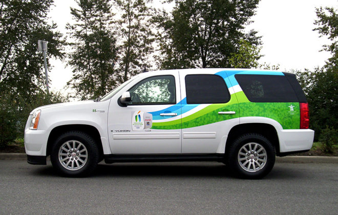 Vancouver Olympics Vehicle Wrap