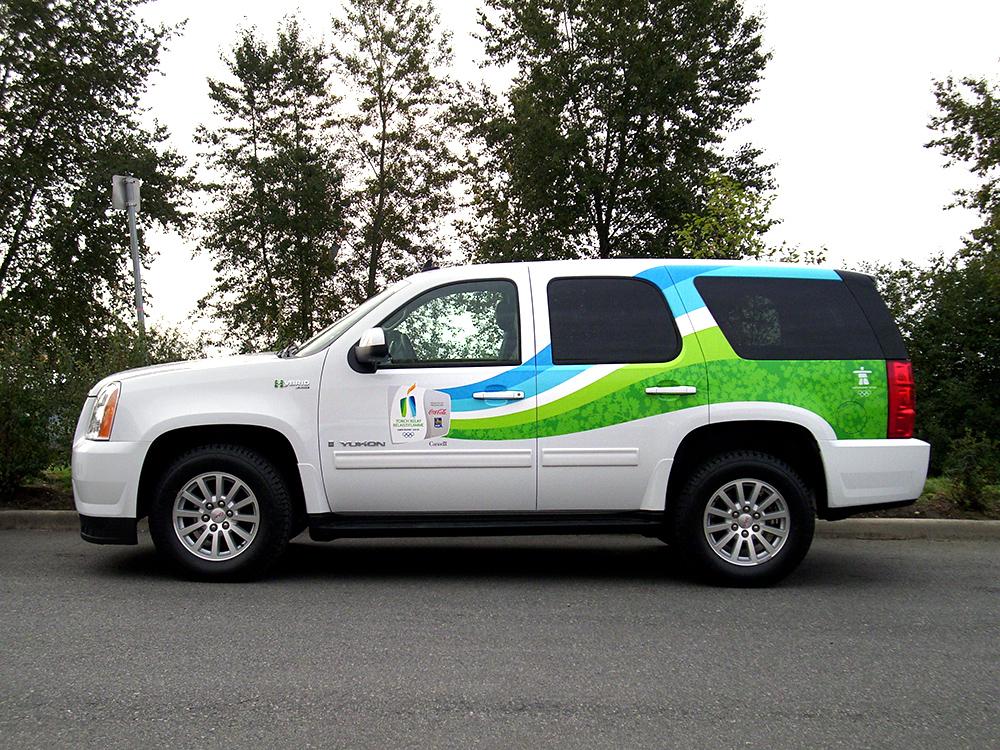 Vancouver Olympics Vehicle Wrap