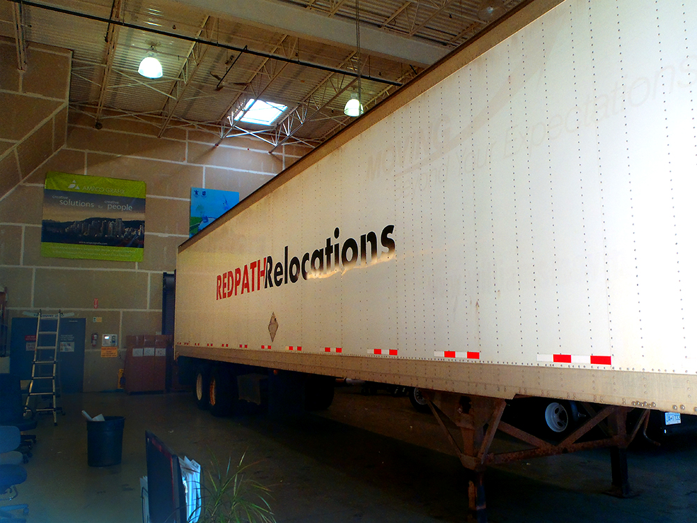 Redpath Trailer Decal 2015