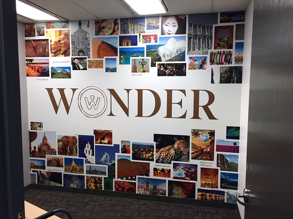 Scenic Tours Wall Mural 2015