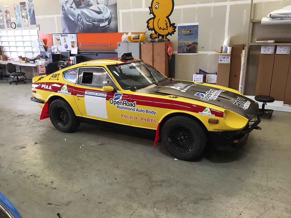 Scott Tinder Racecar Wrap 2016