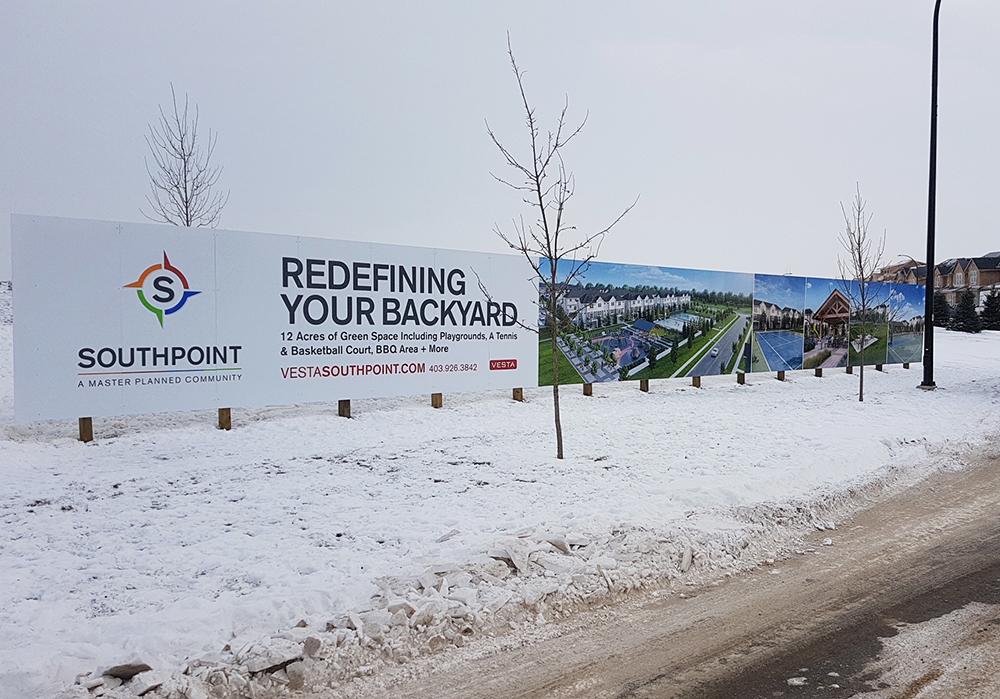 2017 South Point Calgary Hoarding