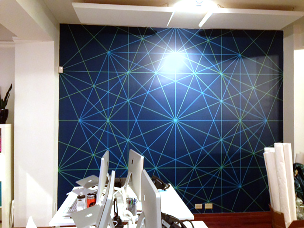 Stat Cement Wall Mural 2015
