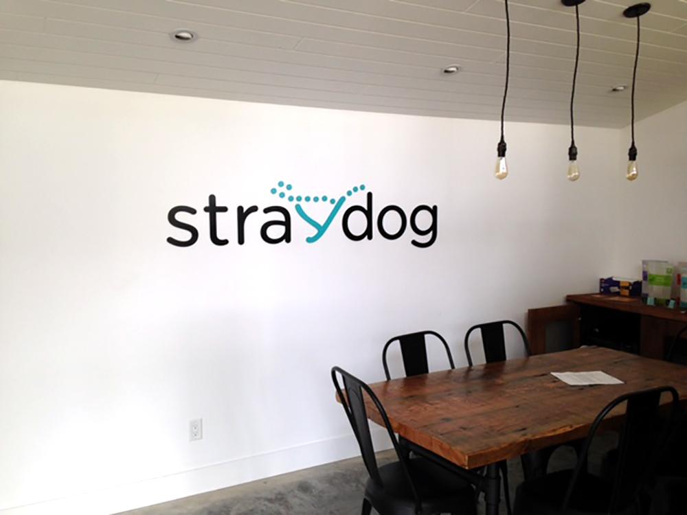 Stray Dog Wall Decal 2015