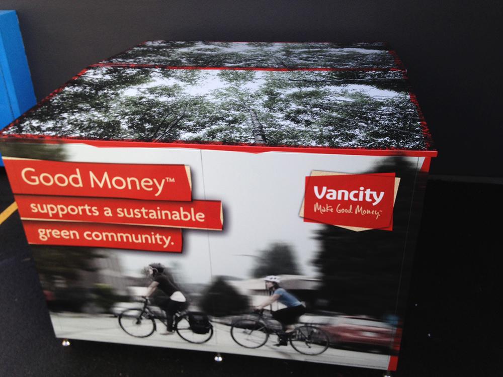 Vancity Bike Locker Graphics 2016