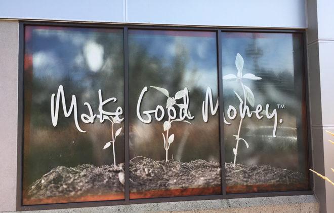 2017 Vancity Maple Ridge Window Graphic