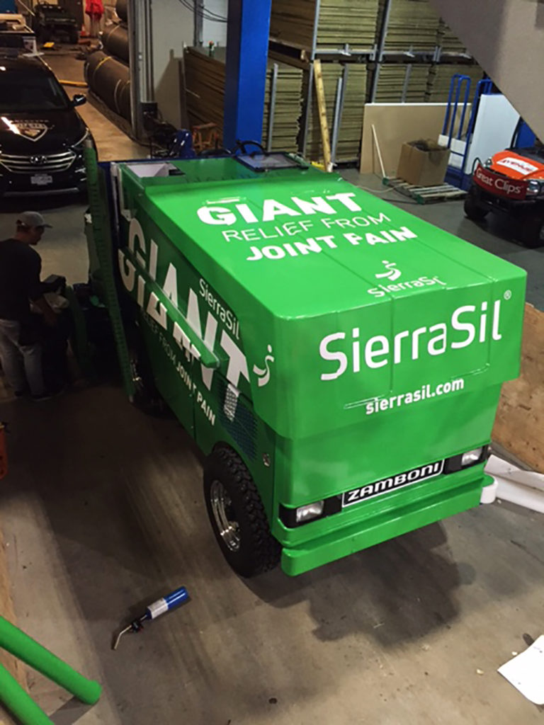 SierraSil Giant Zamboni Wrap 2016