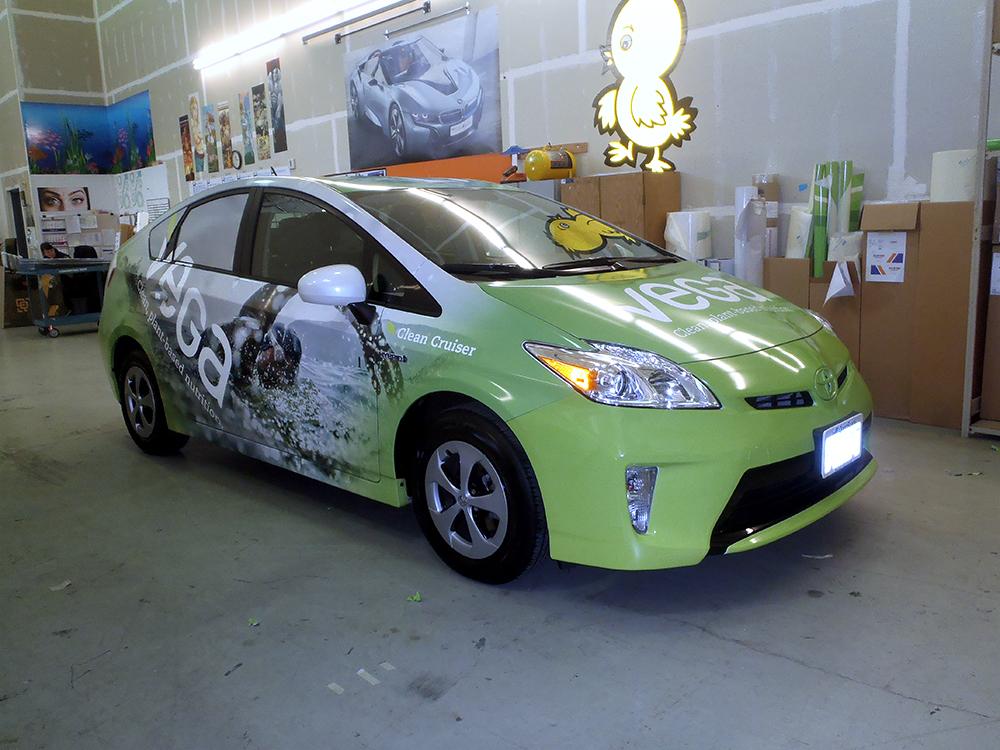 Vega Vehicle Wrap 2015