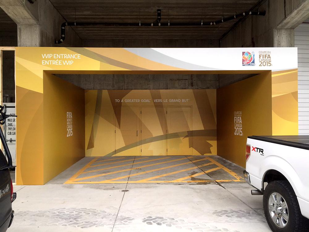 Fifa Entrance Mural 2015