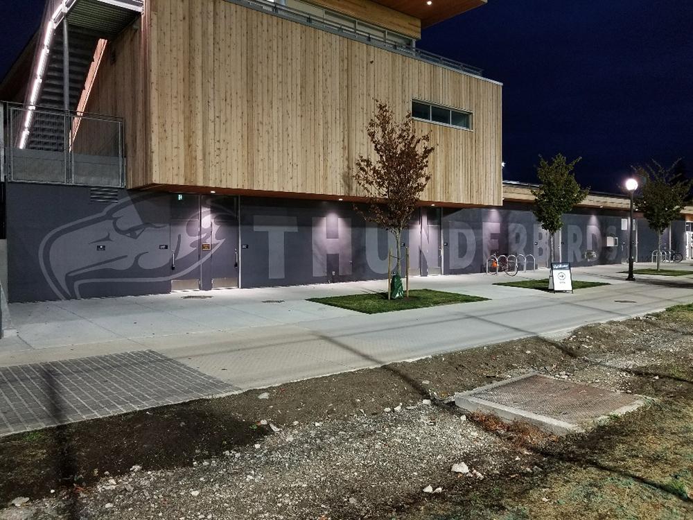 2017  UBC Thunderbird Building Graphics