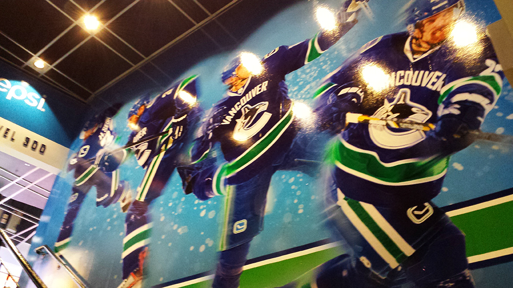 2014 Rogers Arena Wall Graphics