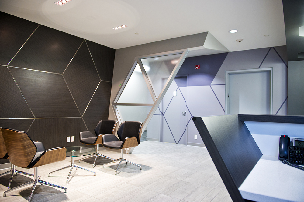 Architectural Finishes for Churchill Services Group Office in 2013