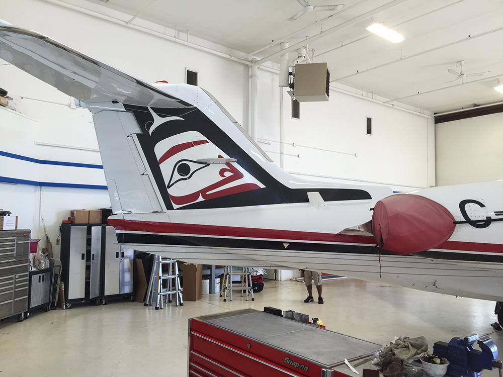 Learjet Plane Graphics 2016