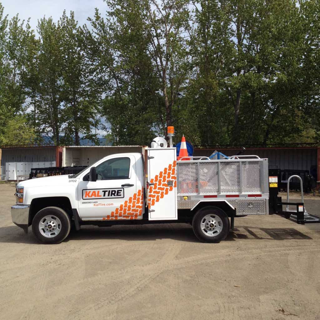 612ce05cf469a7 Kal Tire Fleet Graphics. Truck wraps ...